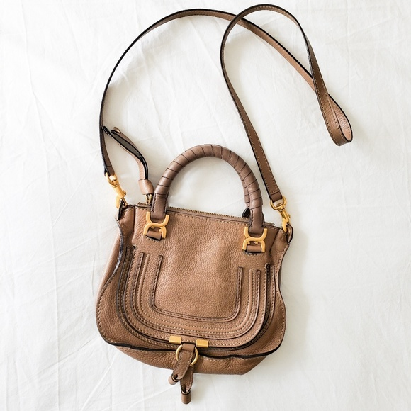 6c9ab870bed Authentic Chloe Mini Marcie Satchel
